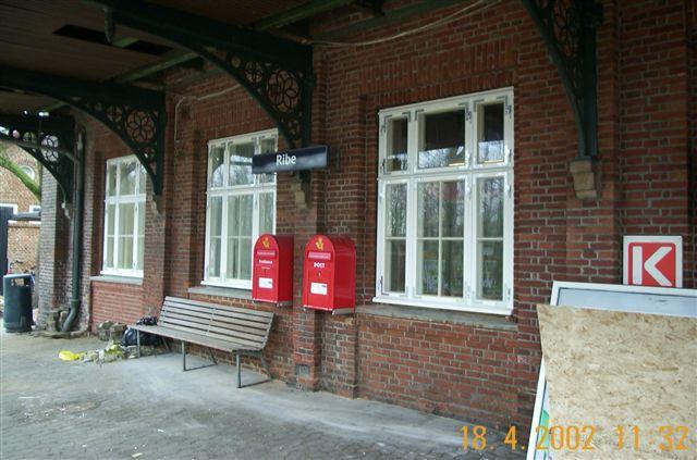 dsb station ribe billede4