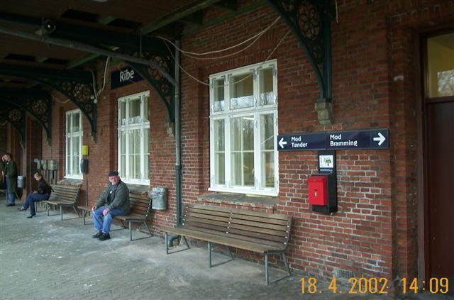 dsb station ribe billede6